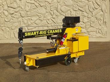 Smart Rig 174 Portable Crane Small Cranes Mini Mobile Floor
