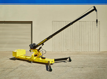 Microcranes 174 Portable Cranes Small Floor Crane Hoist
