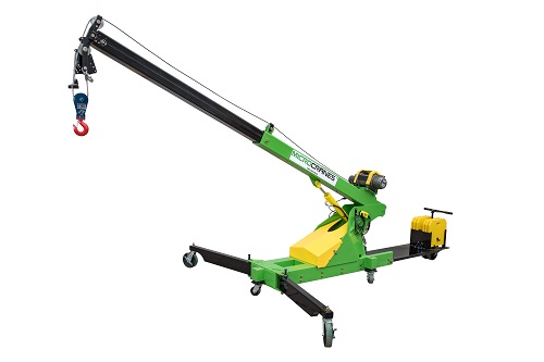 Microcranes 174 Portable Maintenance Cranes Small Floor