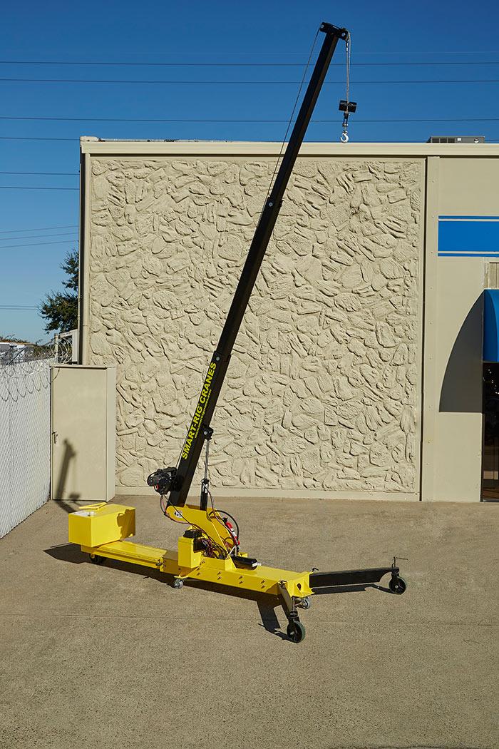 Small portable jib cranes : Microcranes? portable cranes small floor crane hoist