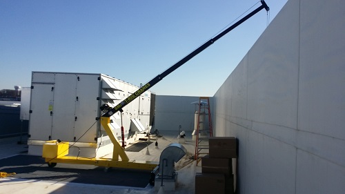 HVAC Crane Hoists Lift